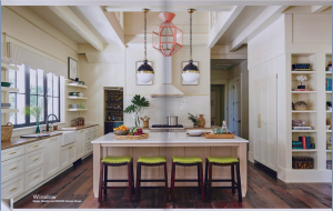kitchen-cabinets-in-jasper-ga-cream-kitchen-blush-island-lime-seat cushions